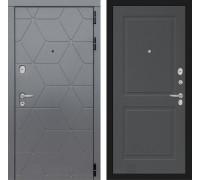 Двери Лабиринт входные двери Лабиринт Космо 11 Графит софт (dveri labirint cosmo)