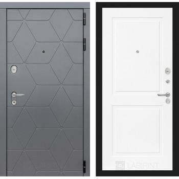 Входная дверь labirint COSMO 11 Белый софт