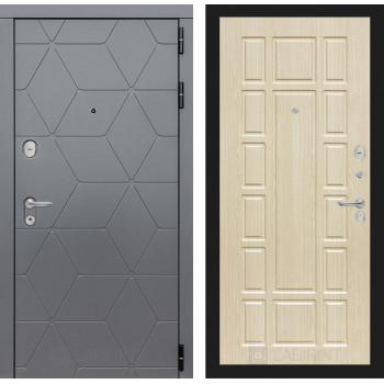 Входная дверь labirint COSMO 12 Беленый дуб