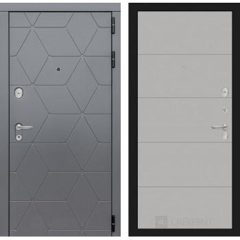 Входная дверь labirint COSMO 13 Грей софт
