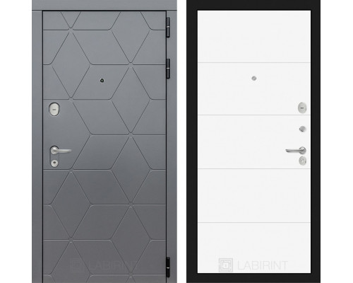 Входная дверь в квартиру COSMO 13 Белый софт