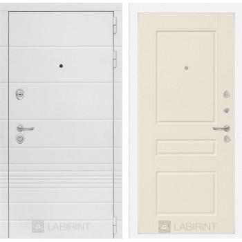 Входная дверь Labirint Трендо 03 Крем софт