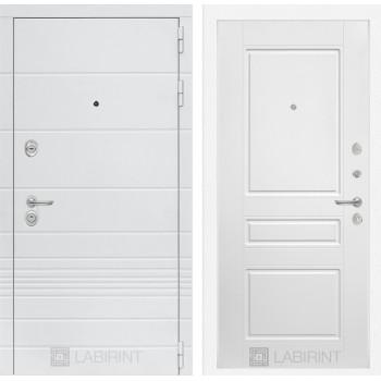 Входная дверь Labirint Трендо 03 Белый софт