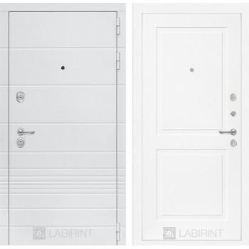 Входная дверь Labirint Трендо 11 Белый софт