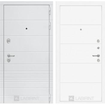 Входная дверь Labirint Трендо 13 Белый софт