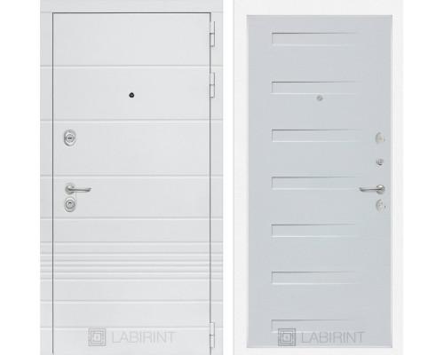 Входная дверь Labirint Трендо 14 Дуб кантри белый