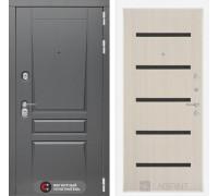 Входная дверь labirint Платинум 01 Беленый дуб