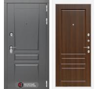 Входная дверь labirint Платинум 03 Орех бренди
