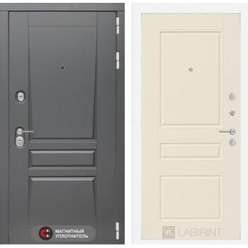 Входная дверь labirint Платинум 03 Крем софт