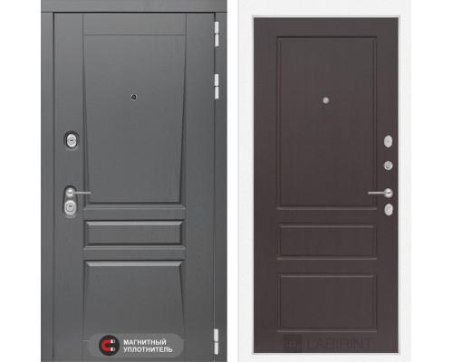 Входная дверь labirint Платинум 03 Орех премиум