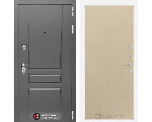Входная дверь labirint Платинум 05 Венге светлый