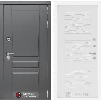 Входная дверь labirint Платинум 06 Белое дерево