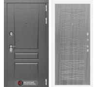 Входная дверь labirint Платинум 06 Сандал серый