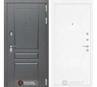 Входная дверь labirint Платинум 07 Белое дерево