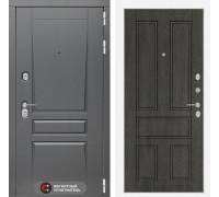 Входная дверь labirint Платинум 10 Дуб филадельфия графит