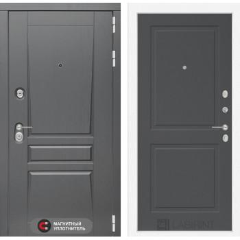 Входная дверь labirint Платинум 11 Графит софт