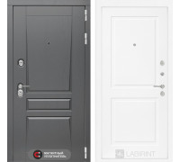 Двери Лабиринт входная дверь labirint Платинум 11 (цвет Белый софт)