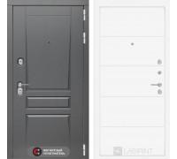 Двери Лабиринт входная дверь labirint Платинум 13 (цвет Белый софт)
