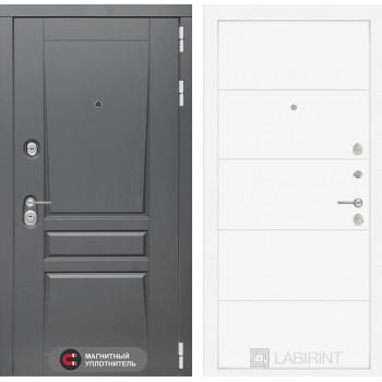 Входная дверь Платинум 13 (цвет Белый софт)