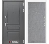 Входная дверь labirint Платинум 21 Бетон светлый