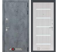 Входная дверь Бетон 01 (цвет Сандал белый)
