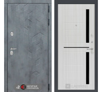 Входная дверь Бетон 02 (цвет Сандал белый)