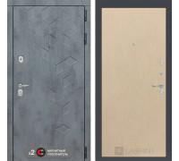 Входная дверь Бетон 05 (цвет Венге светлый)
