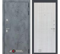Входная дверь Бетон 06 (цвет Сандал белый)