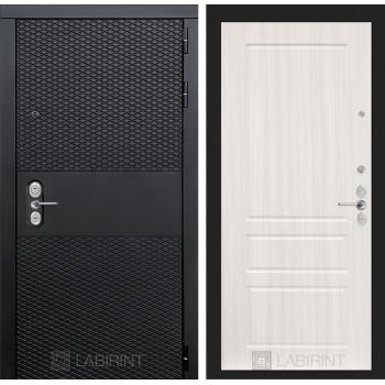 Входная дверь BLACK 03 - Сандал белый