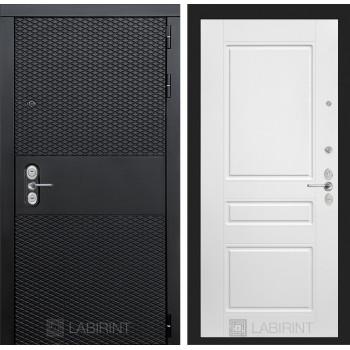 Входная дверь BLACK 03 - Белый софт