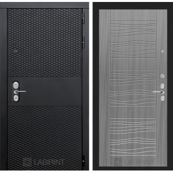 Входная дверь BLACK 06 - Сандал серый