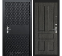 Входная дверь BLACK 10 - Дуб филадельфия графит