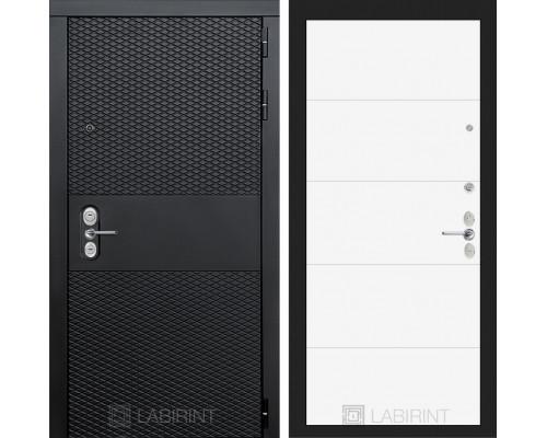 Входная дверь BLACK 13 - Белый софт