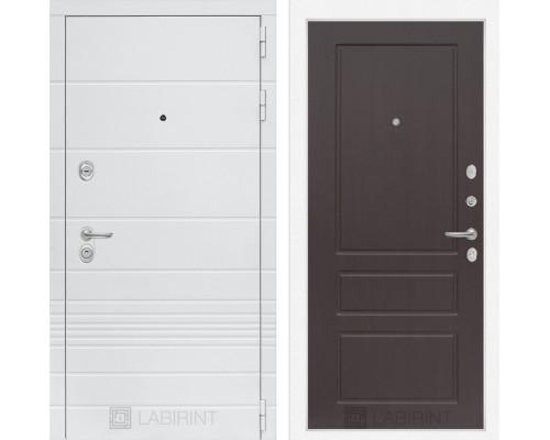 Входная дверь Labirint Трендо 03 Орех премиум