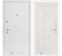 Входная дверь Labirint Трендо 03 Сандал белый