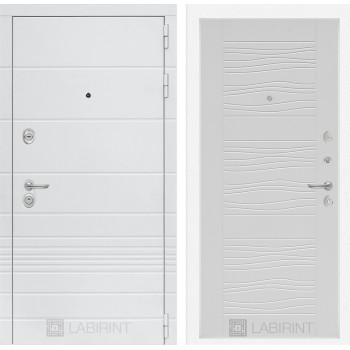 Входная дверь Labirint Трендо 06 Белое дерево