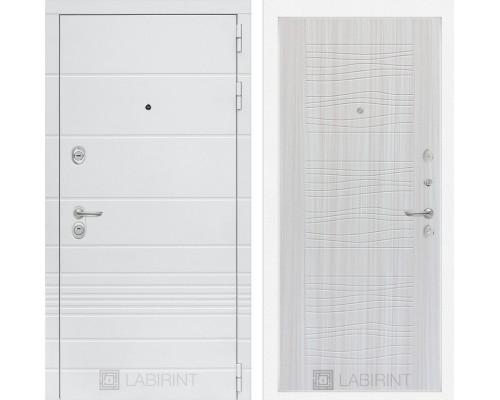 Входная дверь Labirint Трендо 06 Сандал белый