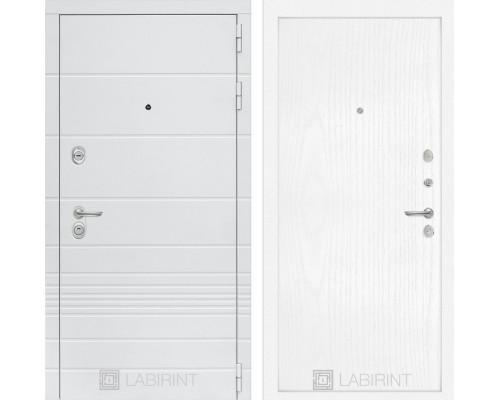 Входная дверь Labirint Трендо 07 Белое дерево
