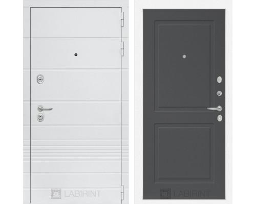 Входная дверь Labirint Трендо 11 Графит софт