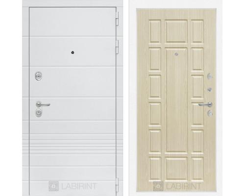 Входная дверь Labirint Трендо 12 Беленый дуб