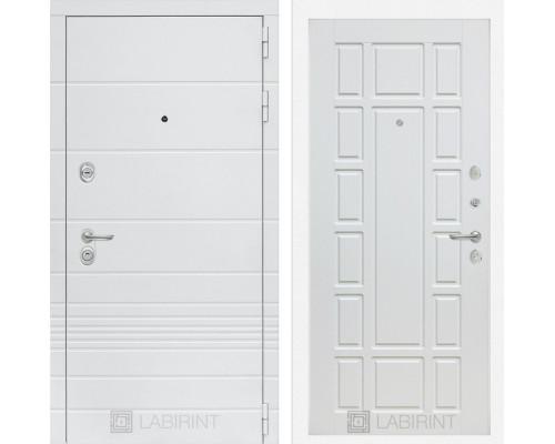 Входная дверь Labirint Трендо 12 Белое дерево