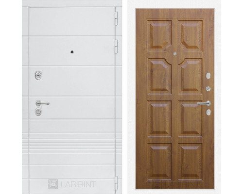 Входная дверь Labirint Трендо 17 Золотой дуб