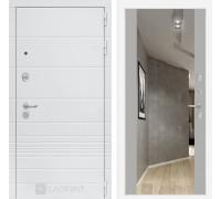 Входная дверь Labirint Трендо с Зеркалом Максимум Грей софт