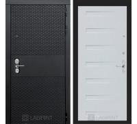 Входная дверь BLACK 14 - Дуб кантри белый горизониальный
