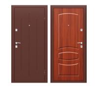 Дверь входная Стройгост 7-2 Антик Медь/М-11 (ИталОрех)