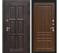 Входная дверь с терморазрывом Лондон 03 - Орех бренди