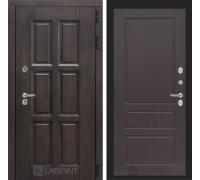 Входная дверь с терморазрывом  Лондон 03 - Орех премиум