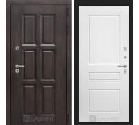 Входная дверь с терморазрывом Лондон 03 - Белый софт