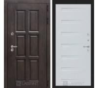 Входная дверь с терморазрывом Лондон 14 - Дуб кантри белый горизонтальный