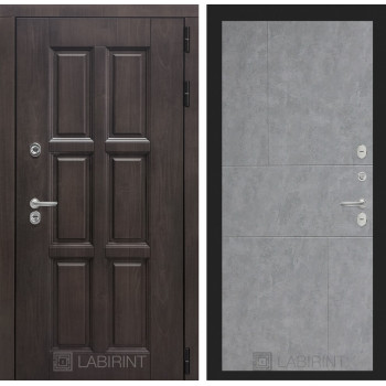 Входная дверь с терморазрывом Лондон 21 - Бетон светлый